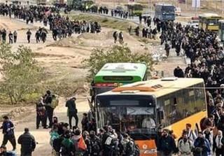 حمل و نقل و جابجایی زائران در اربعین حسینی