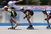 مسابقات اسکیت سرعت به مناسبت هفته دفاع مقدس در یاسوج برگزار شد