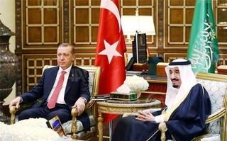اردوغان» و «ملک سلمان