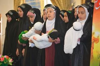 تشییع نمادین حضرت علی اصغر علیه السلام