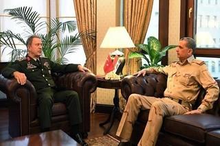 رؤسای ستاد کل ارتش ترکیه و عراق