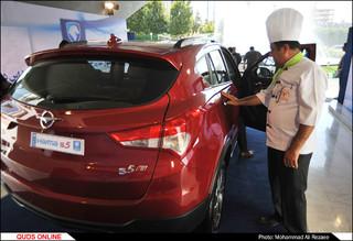 معرفی محصول جدید ایران خودرو هایما s۵
