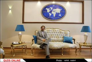 تصاویر گفتگوی اختصاصی با سخنگوی وزارت امور خارجه