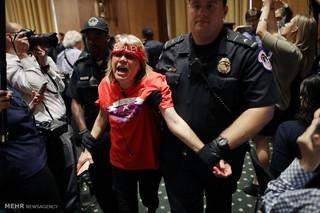 اعتراض به طرح درمانی جمهوری خواهان در آمریکا