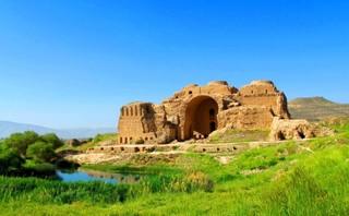 محور تاریخی ساسانی