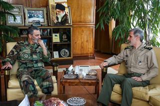 سرلشکر موسوی با وزیر دفاع