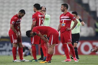 دیدار تیم های فوتبال پرسپولیس و الهلال