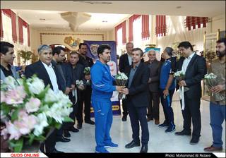 استقبال از تیم ملی فوتسال در مشهد