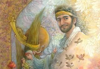 تابلوی فاخر شهید حججی