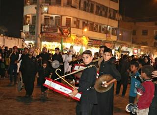 مراسم عزاداری  در کاظمین