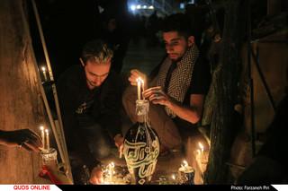 شام غریبان در جوار حرم حضرت معصومه(س)/ گزارش تصویری