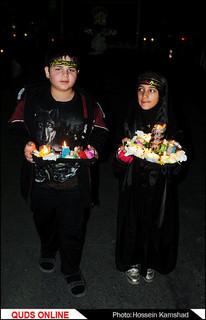 با حضور تولیت آستان قدس رضوی مراسم سنتی شام غریبان حسینی در حرم امام رضا(ع) برگزار شد\ گزارش تصویری 1