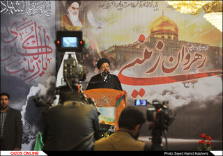 حضورآیت الله رئیسی در اجتماع عظیم رهروان زینبی مشهد/گزارش تصویری