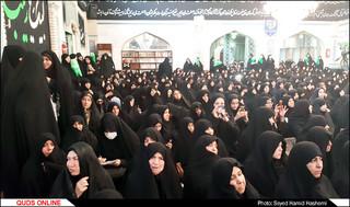 حضورآیت الله رئیسی در اجتماع عظیم رهروان زینبی مشهد