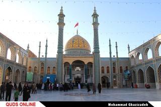 صحن و سرای حرم امامزاده سلطان علی بن محمد باقر علیه السلام