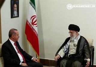 قائد الثورة الاسلامية - اردوغان