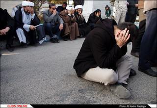استقبال از پیکر مطهر شهید مدافع حرم محمد جاودانی