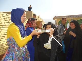 اعزام مردم سرغل به مشهد