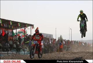 سومین دوره مسابقات قهرمانی موتورکراس کشور/ گزارش تصویری