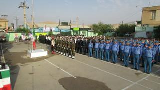 برگزاری رژه یگان های نیروی انتظامی گچساران