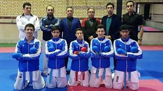 تیم ملی نوجوانان کاراته