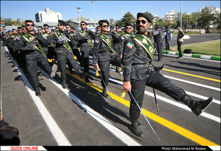 مراسم صبحگاه عمومی نیروی انتظامی