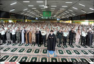 حضور آیت ا...علم الهدی درآموزشگاه ثامن الائمه ناجا /گزارش تصویری