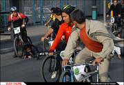 مسابقه دوچرخهسواری جایزه بزرگ در مشهد برگزار شد