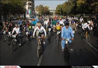 همایش بزرگ دوچرخه سواری همگانی/گزارش تصویری