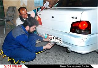 افتتاح خط تولید پلاک انواع خودرو