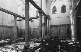 آتش کشیدن مسجد واقع کرمان