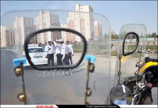 مانور موتورسیکلت سواران قانونمند/گزارش تصویری