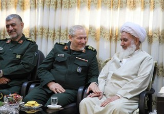 سرلشکر رحیمصفوی با نماینده ولی فقیه در استان کرمانشاه