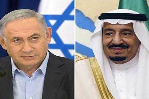 سلمان و نتانياهو - کراپشده