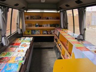 كتابخانه های سيار روستایی تربت جام، همت خیران را می طلبد