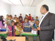 ۲۱ دانش آموز «سرگچ» دیشموک صاحب مدرسه شدند