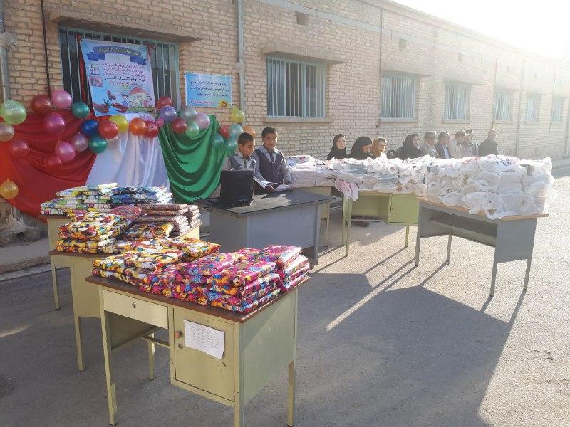 توزیع اقلام کمکی در مدارس گچساران