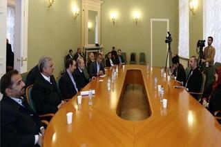 لاریجانی با رئیس مجلس عمان