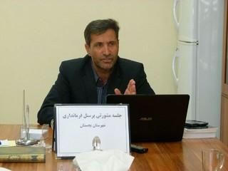 حسین اسدی معاون فرماندار بجستان