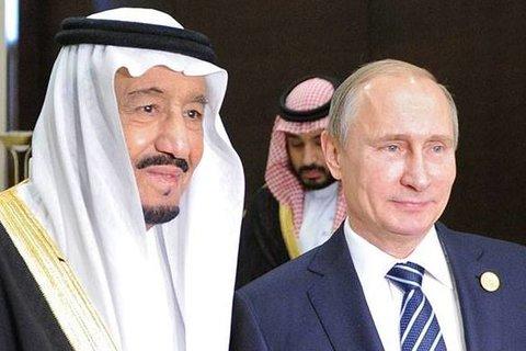 بوتين و سلمان - کراپشده