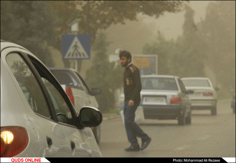 گرد و غبار شدید در مشهد
