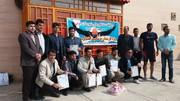 مسابقات شنا بین کارکنان شهرستان جوین برگزارشد