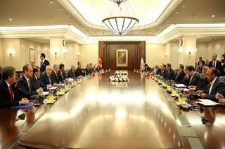 مذاکرات مشترک هیئت های عالی ایران و ترکیه