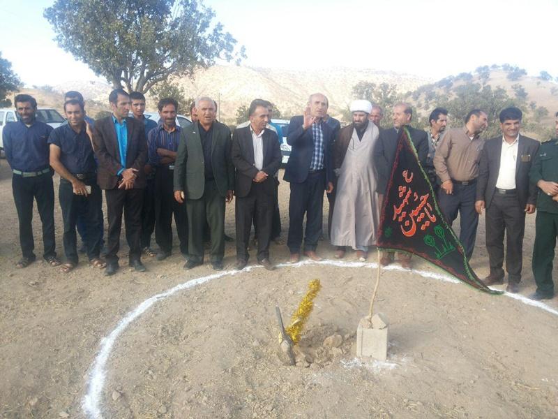 كلنگ زني زمين مسجد لاوه پاتل