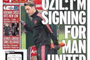 ستاره آلمانی شایعات را تایید کرد/ مسوت اوزیل به منچستر یونایتد می رود