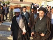 آیت الله ملک حسینی از نزدیک مشکلات مردم دیشموک را بررسی کرد