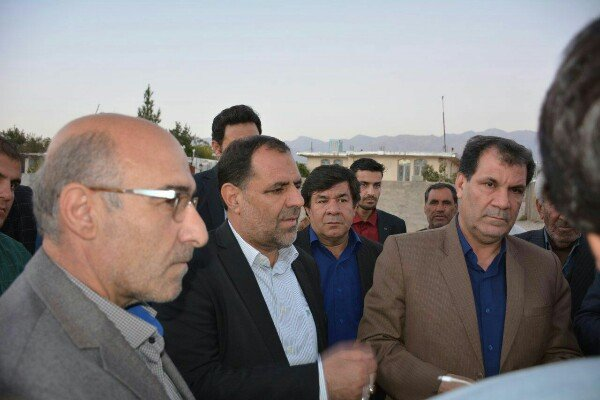 بازدید استاندار از شرف آباد یاسوج
