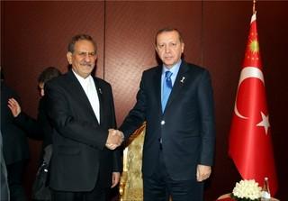 اردوغان و جهانگیری