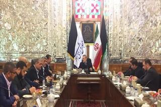 معاون دفتر سیاسی حماس با لاریجانی