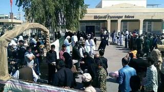 هزار و ۴۰۰ زائر پاکستانی اربعین وارد مرز میرجاوه شدند